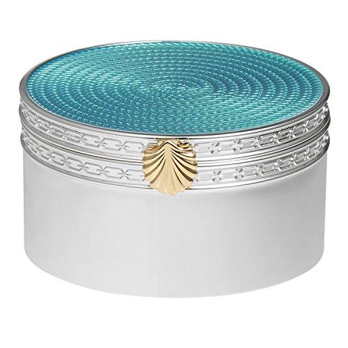 UPC 701587214537, Wedgwood Treasures with Love Aquamarine Seashell Treasure Box