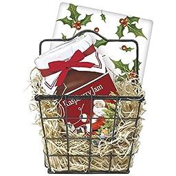 Santa\'s Sleigh Jam Bakset Gift Set