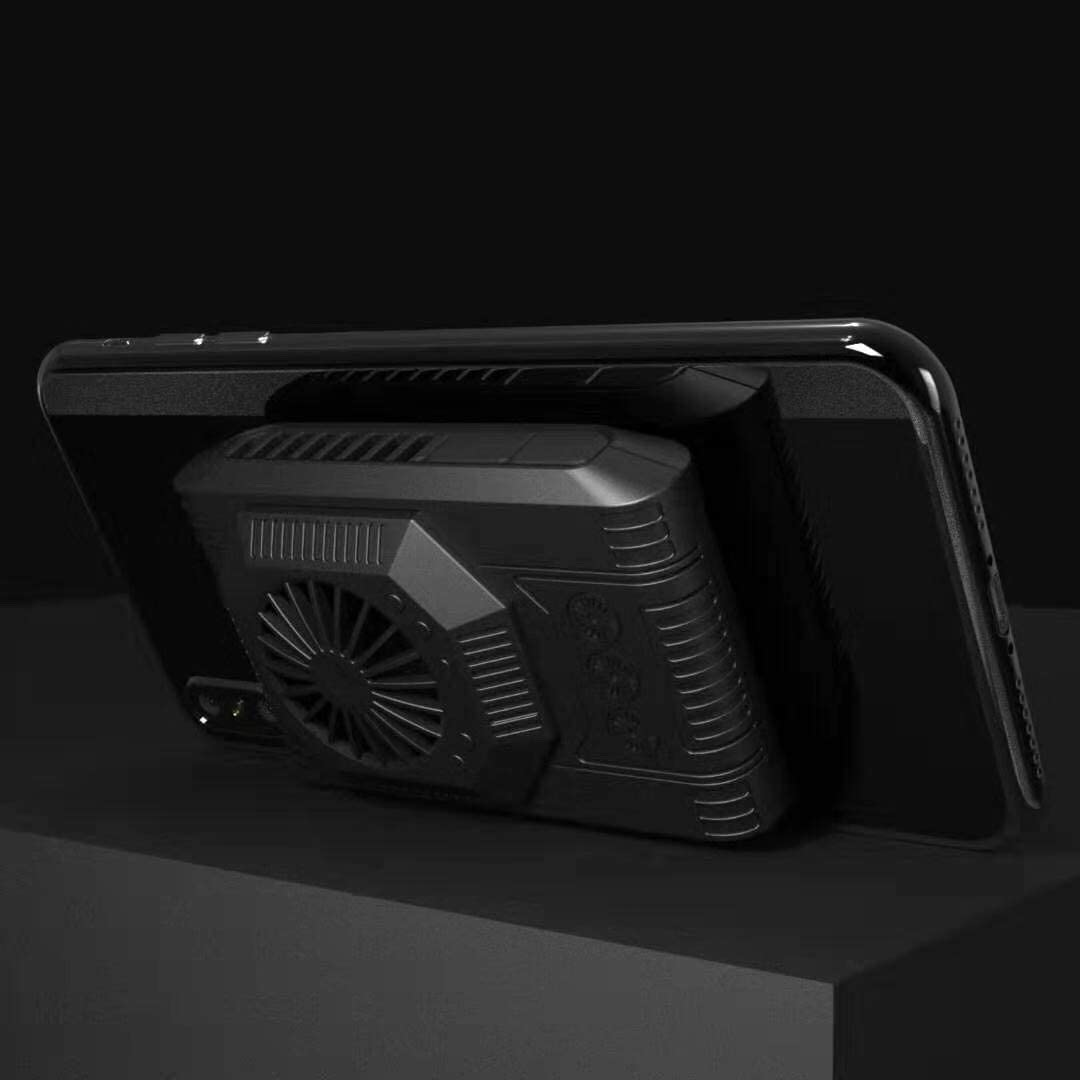Hinax Phone Silent Cooler, [Upgraded Tech] Semiconductor Radiator, Cooling 20℃ in 1min, for PUBG or Fotnite, for Phone 11 Pro Xs Max XR X 8 7 6 6s Samsung Galaxy S10 S9 S8 Plus
