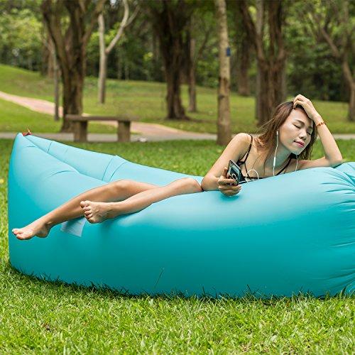 Tremendous Moran Inflatable Lounger Air Mattresses Quick Open Hangout Creativecarmelina Interior Chair Design Creativecarmelinacom