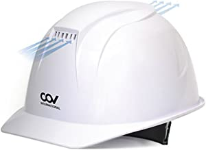 [KEM] Safety Storm Helmet forced ventilation cove Hard Hat Cooling Fan Air Cooler White