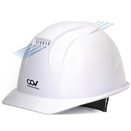 [KEM] - Casco de seguridad con ventilación forzada, ventilador de refrigeración para sombrero