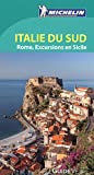 guide vert italie du sud rome excursions en sicile green guide in french southern italy sicily french edition