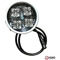 JC 4-LEDs IR Array Illuminator High Power IR Lamp Wide Angle for Night Vision CCTV and IP Camera