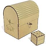 Azeeda 'Dancing Girl' Treasure Chest / Jewellery Box (TC00013239)
