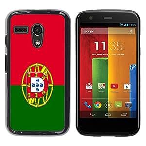 - Flag - - Monedero pared Design Premium cuero del tir¨®n magn¨¦tico delgado del caso de la cubierta pata de ca FOR Motorola Moto G 1ST Gen XT1028 XT1031 Funny House