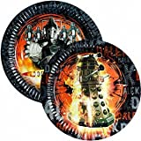Doctor Who New Party Plates, Pk 8 , Party Supplies