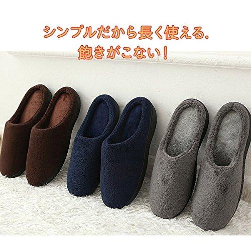 CHNHIRA Unisex House Slippers Slip On Indoor Cotton Slipper 6-7UK Red NDo4Ya