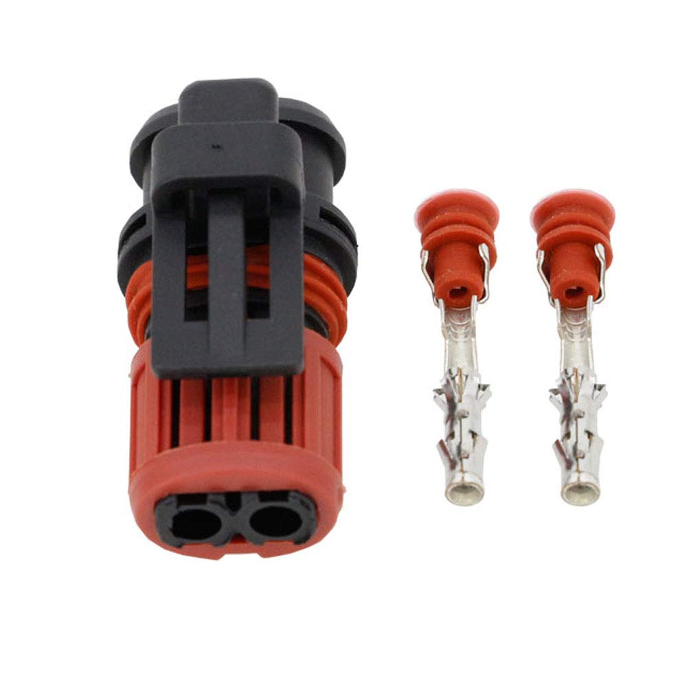 Cnlw 1 Sets 2 Pin Waterproof Automotive Connectors Automotive