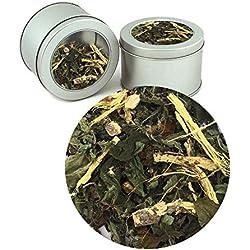 Ayurvedic Nargis Stress Free Tea Indian Pure herbal Organic Ayurvedic Loose Tea Leaves(Buy 1 Get 1)Tea Leaves ( Makes 40 Cups) 2.82 oz By Nargis