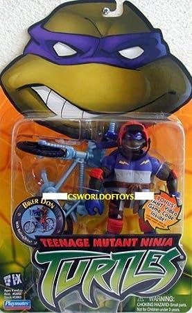 Teenage Mutant Ninja Turtles Figure & Bike: DONATELLO (Biker ...