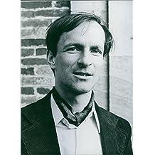 Vintage photo of Portrait of Claude Nicollier.