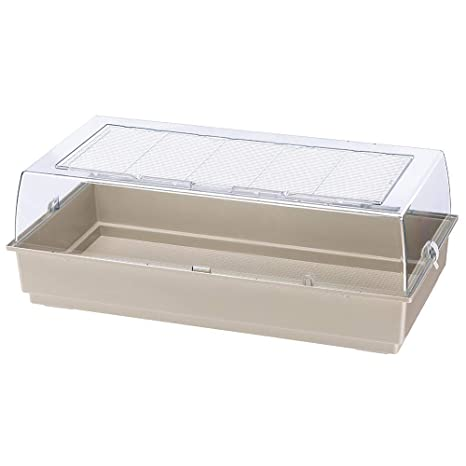 Ferplast Amplia Jaula de plástico para Conejos y Conejillos de ...
