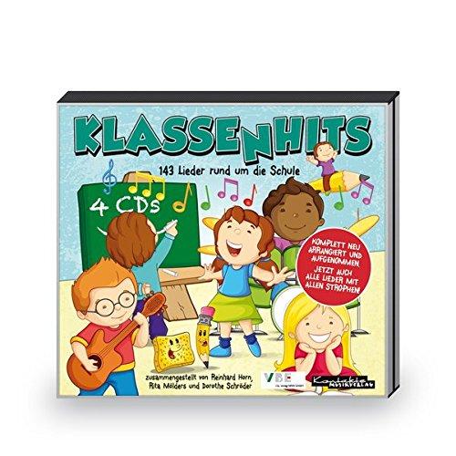 KlassenHits: 143 Lieder rund um die Schule (4-CD-Paket)