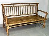 Cheap Bamboo Slat Back Bamboo Bench