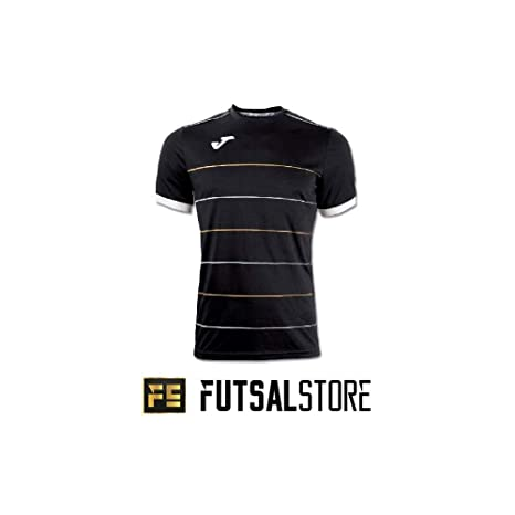 Joma - Camiseta pádel campus, talla m, color negro: Amazon.es ...