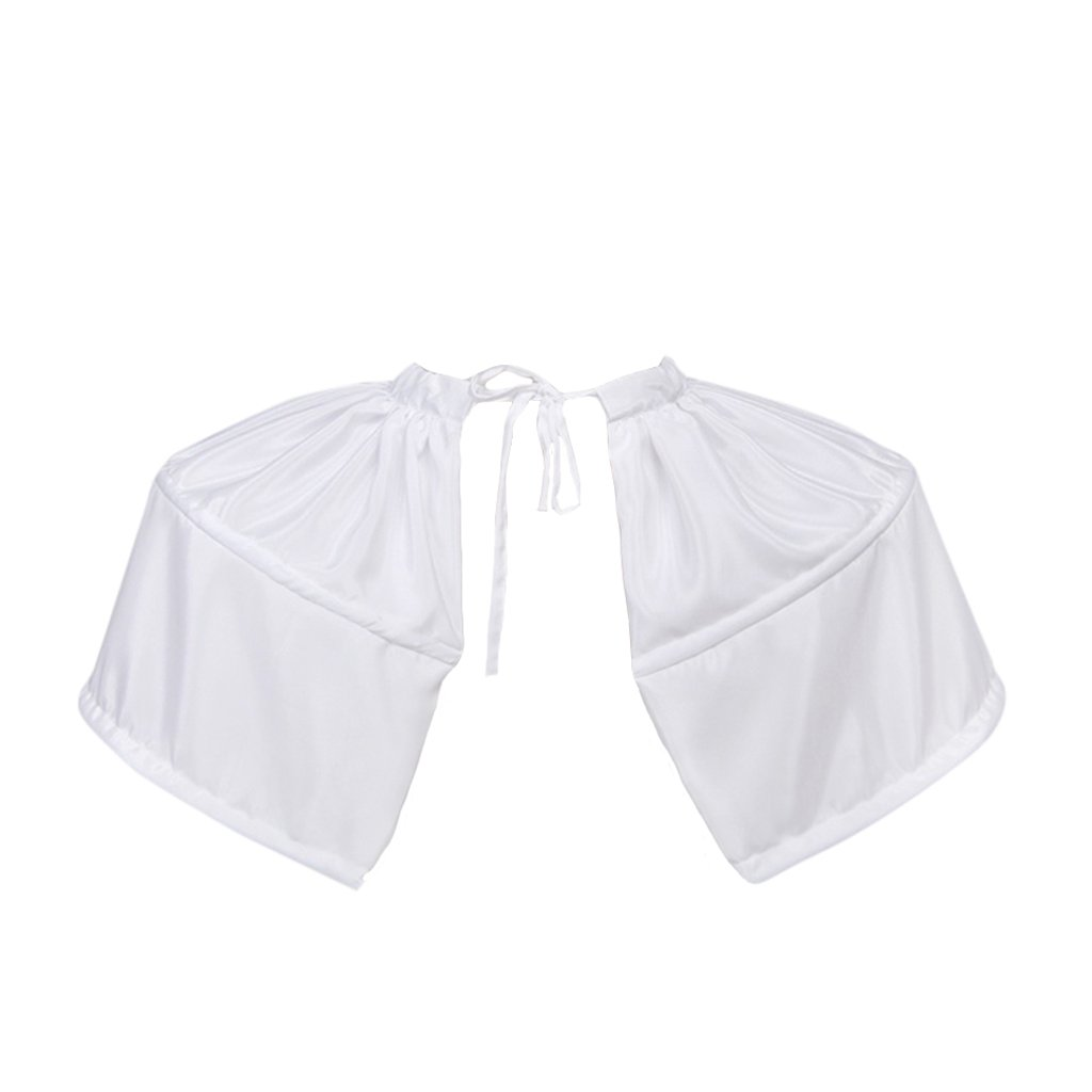 Women's Replicated French  Rococo Period White Pannier - DeluxeAdultCostumes.com