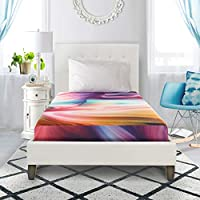 Groove Tie Dye Memory Foam Mattress, 5 Twin