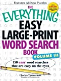 Easy Large-Print Word Search Book, Charles Timmerman, 1440559287