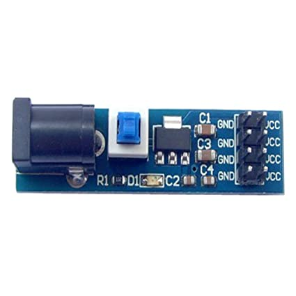 Providethebest AMS1117 3.3V DC regulador de Voltaje Bajada módulo de alimentación 4.75V a 3.3