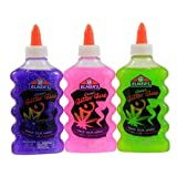 Office Products : Elmers 6 Oz Washable Glitter Glue Assorted Colors