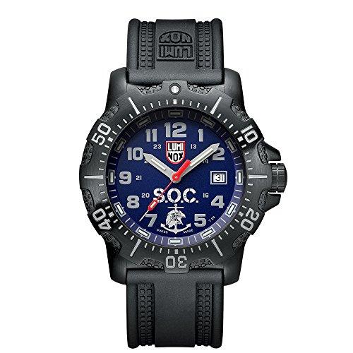 Luminox L.S.O.C. Black Stainless Steel Mens Watch Set