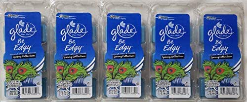 Glade Wax Melts Spring Be Edgy Coconut Water Freesia 5 Packs of 6 =30 Oil Tarts