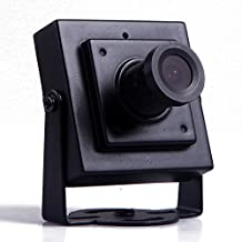 "HDE 700TVL 1/3"" CMOS NTSC Mini Security Video CCTV FPV Color Camera with 3.6mm PAL Lens"