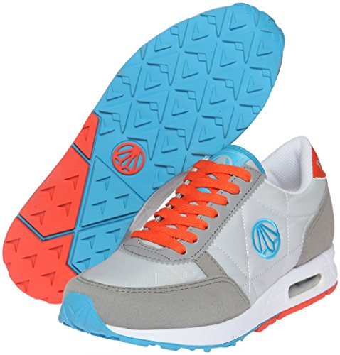 Paperplanes-1147 Unisex Fashion Casual Luchtkussen Training Sneakers Schoenen 1147-grijs