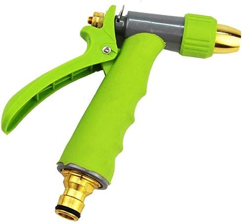 Pistola Manguera de Jardín Pistola de Agua para el hogar Resistente Boquilla de Manguera de jardín Ducha Riego Pistola de Agua Pistola de pulverización Mango Manguera de Boquilla: Amazon.es: Hogar