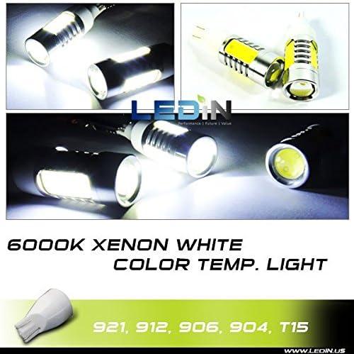 LEDIN High Power T15 SMD Plasma LED Engine Compartment Light Projector 912 921 7.5W