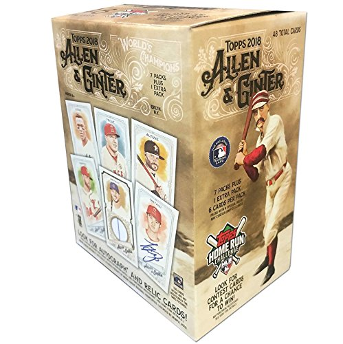 Looking for a allen ginter value pack? Have a look at this 2019 guide!