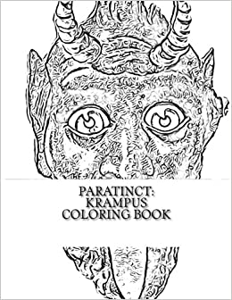 Image result for krampus coloring pages   Creepy christmas ...   336x260
