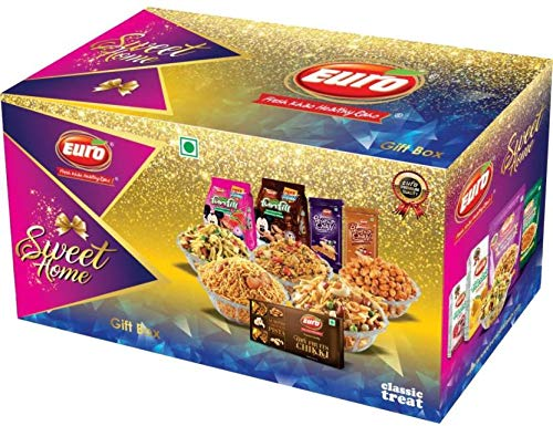 Euro Sweets Home Gifts Box Combo Pack(5% Festival Offer