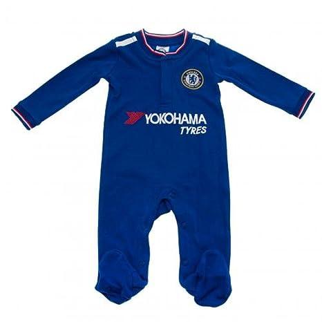 Chelsea FC Fútbol bebé Pelele regalo (9 - 12 meses) - una gran Navidad