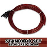 FULL SET Superior Bassworks Standard Upright Double Bass Strings Blood Red Color