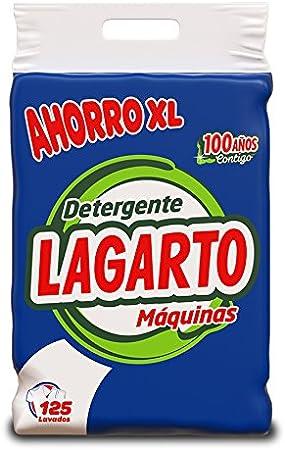 Lagarto Detergente en Polvo para Lavadora Saco 10 kg: Amazon.es ...