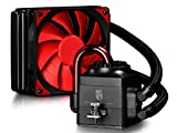 PROMOTION! DEEPCOOL Gamer Storm CAPTAIN 120 AIO Liquid CPU Cooler, 120mm Radiator, 120mm PWM Fan, Red, AM4 Compatible, 3-year Warranty