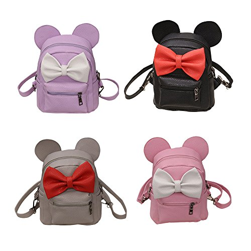Ourhomer  Clearance Sale Wallet Purse New Mickey Backpack Female Mini Bag Women's Backpack (Pink) by Ourhomer (Image #4)