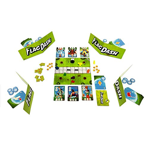 PieceKeeper Games Flag Dash Board Game