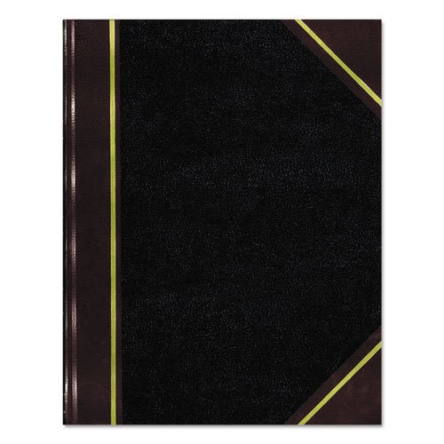 - Texhide Series Account Book, Black/Burgundy, 300 Green Pages, 14 1/4 x 8 3/4, Sold as 1 Each