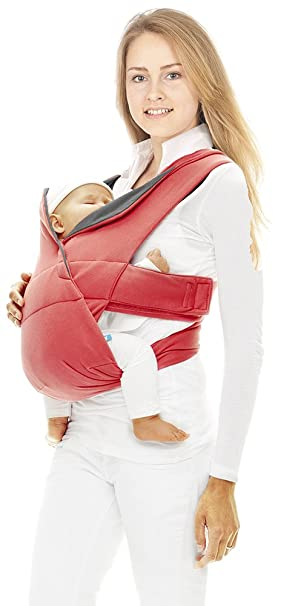 c71c2ea155c2 Wallaboo Porte bébé Cross ergonomique de la naissance, Un confort optimal  du bébé et du