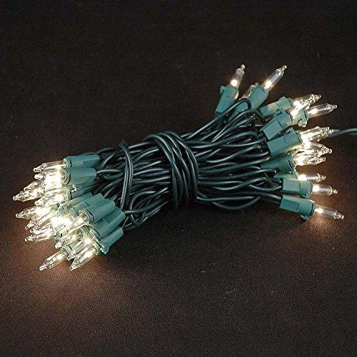 Novelty Lights 35 Light Clear Christmas Craft Mini Light ...