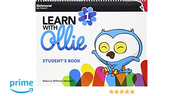 LEARN WITH OLLIE 1 STUDENTS PACK - 9788466829632: Amazon.es ...