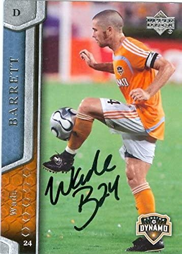 Wade Barrett Autographed Soccer Trading Card Mls Soccer Autographed Soccer Cards At Amazon S Sports Collectibles Store