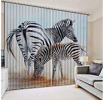 Modern Window Curtains Design Zebra Curtains for Boy/Girls ...