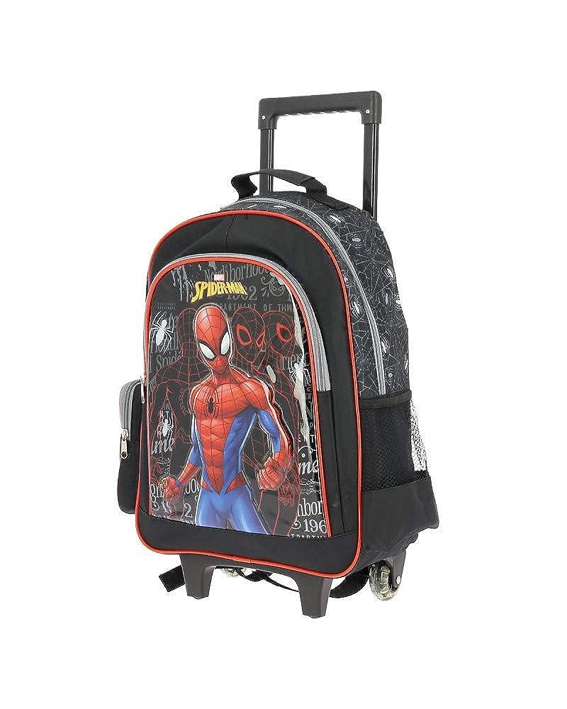 Spiderman sac /à dos roulettes primaire