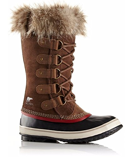 Sorel Joan of Arctic Boots Umber Red Dahl 8 YHB9cE1R