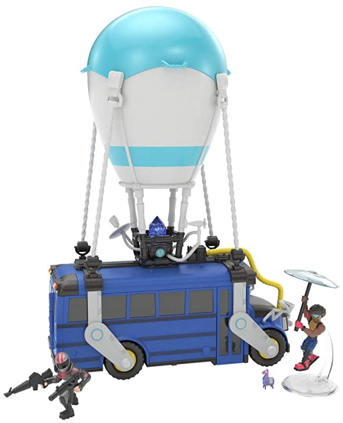 Fortnite Battle Royale Collection Battle Bus Playset