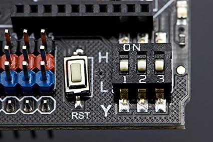 Open-Source HardWare Arduino Dual Bipolar Stepper Motor Shield(A4988 Motor Drivers): Amazon.es: Industria, empresas y ciencia